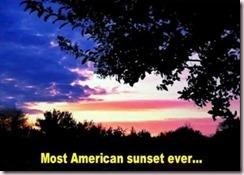 sunset american