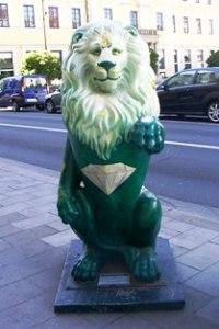 emerald-lion