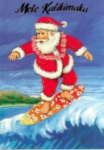 surfing-santa
